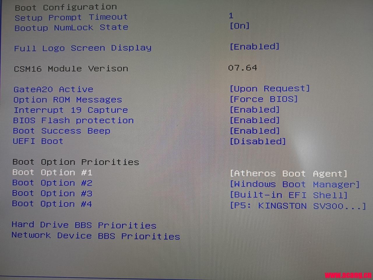 开机时提示DHCP