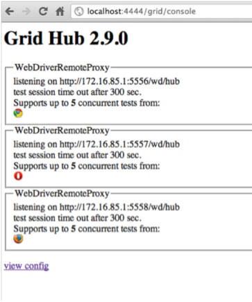 Grid 2 控制台视图样例