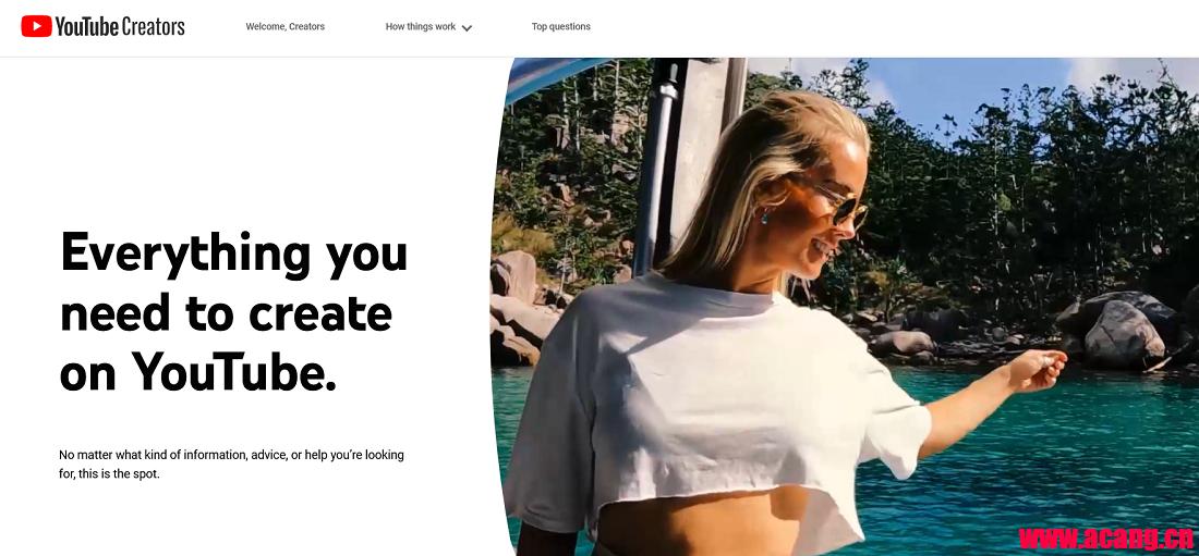 YouTube推出新Creators网站以帮助用户更好发展自己的频道